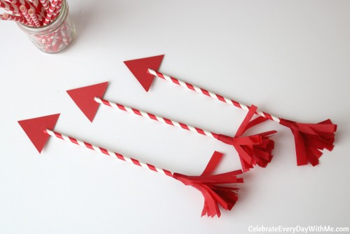 DIY Valentine Arrows for The One You Love (43b)