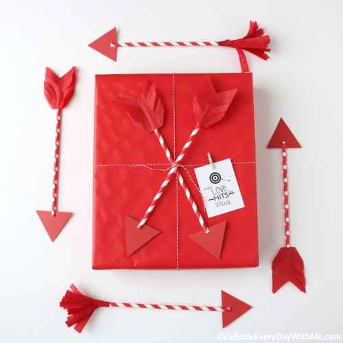 DIY Valentine Arrows for The One You Love (54b)