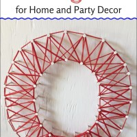 How to Make String Art for Home and Party Decor