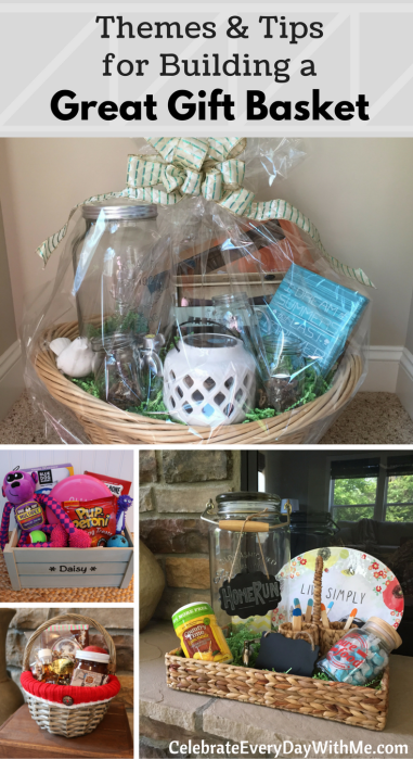 HOW TO- Themes & Tips for Building a Great Gift Basket