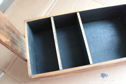 How to Turn a Junky Tool Box into a Beautiful Tea Caddy (11)
