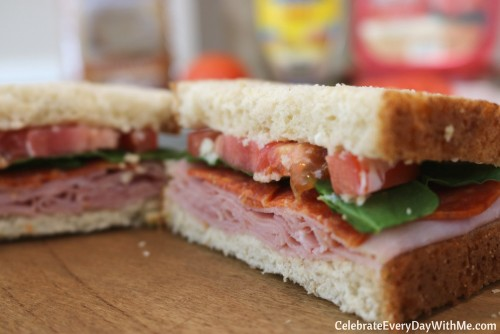 Make Spring Entertaining Easy with This 6-Ingredient Sandwich - RECIPE) (10)
