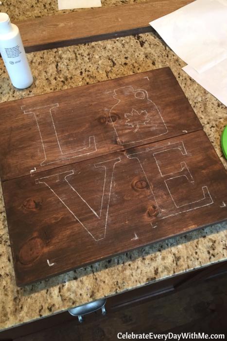 DIY Rustic Love Signs (10)