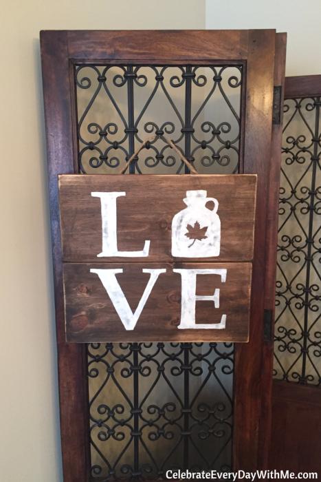 DIY Rustic Love Signs (13)