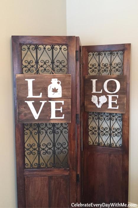 DIY Rustic Love Signs (14)