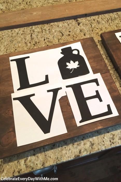 DIY Rustic Love Signs (4b)