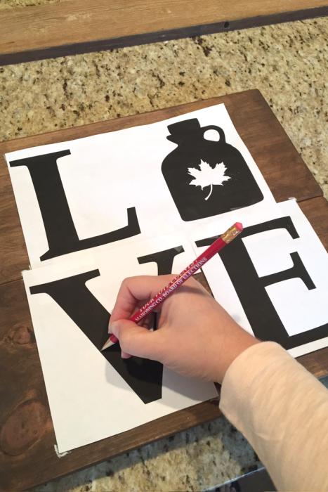 DIY Rustic Love Signs (8b)