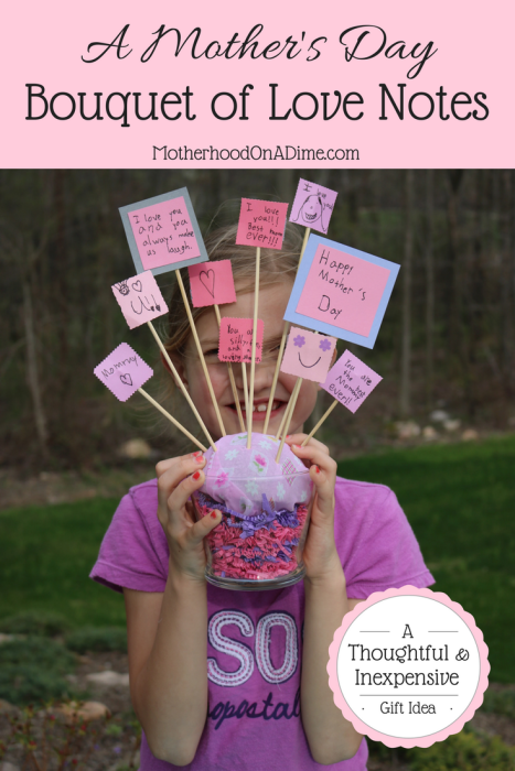 A Mother's Day Bouquet of Love Notes