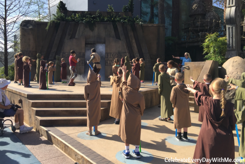 Jedi Training Academy - Trials of the Temple - Star Wars Hollywood Studios - Disney World