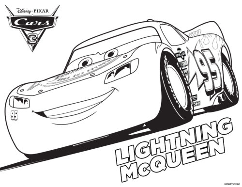 speedy mcqueen coloring pages - photo#21