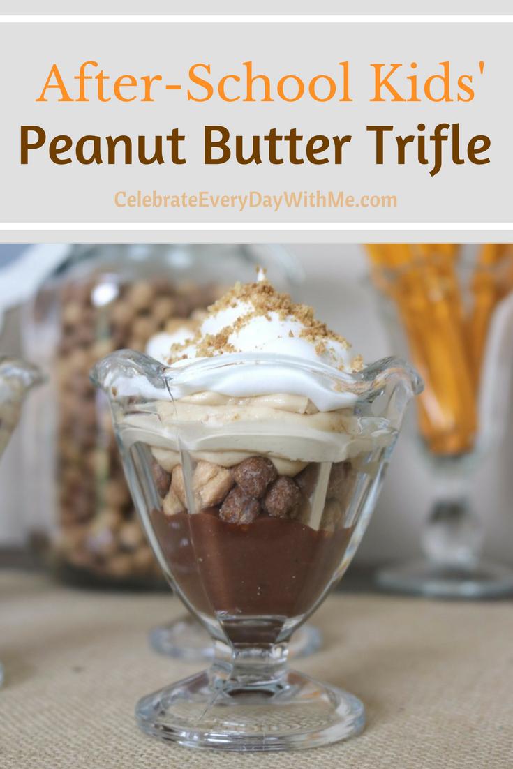 After-School Kids' Peanut Butter Trifle