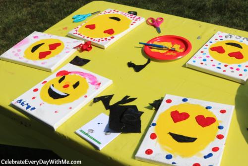 Fun Ideas For An Emoji Party