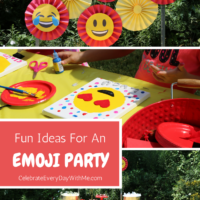 Fun Ideas for an Emoji Party