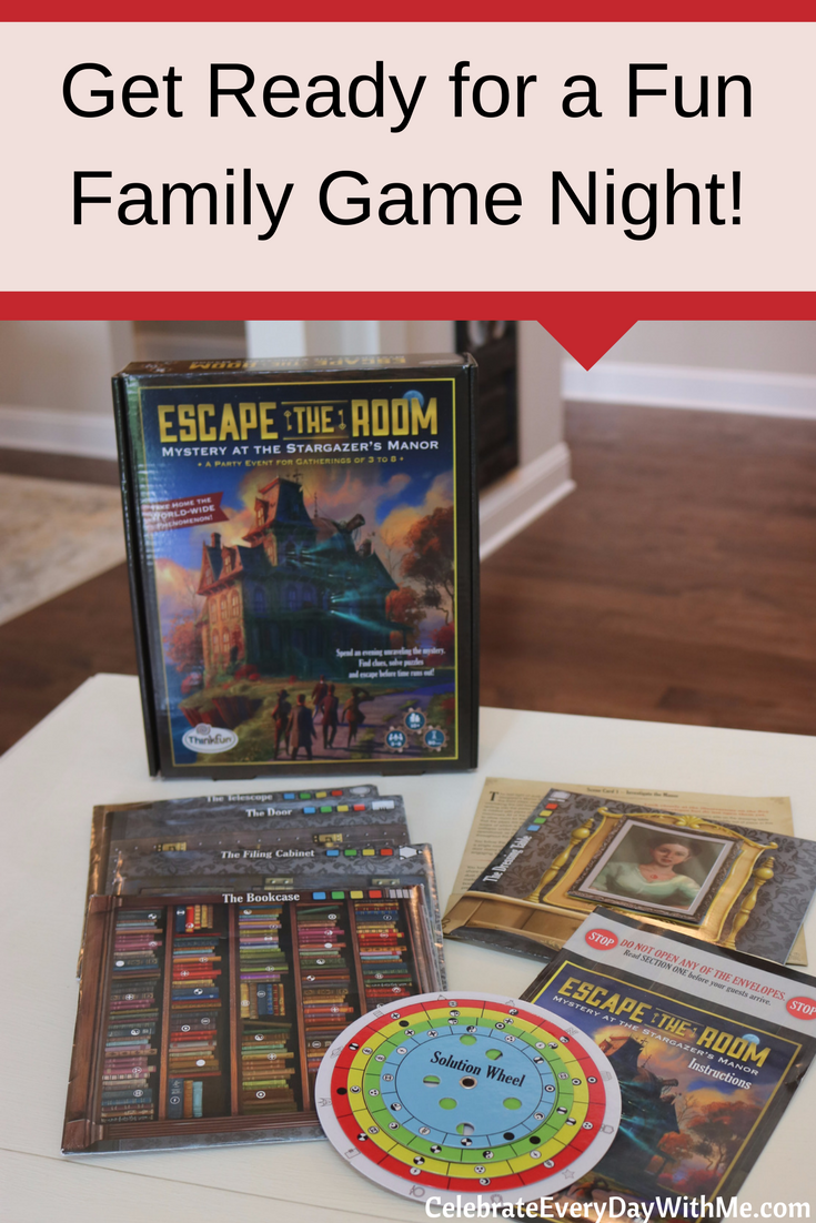 Get Ready for a Fun Game Night at Home with Escape the Room