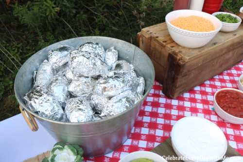 How To Build An Awesome Baked Potato Bar Celebrate Every Day With Me