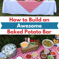 How To Build An Awesome Baked Potato Bar
