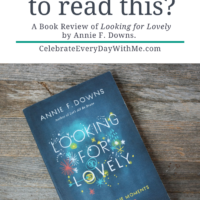 """Looking For Lovely"" – Do You Need to Read This?"