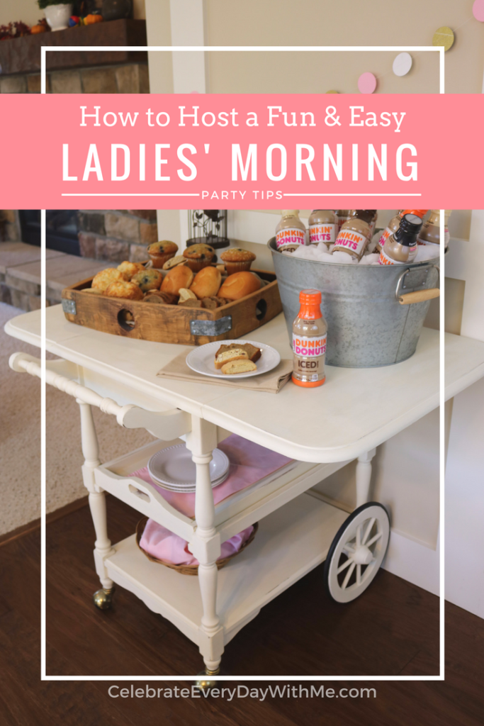 How to Host a Fun & Easy Ladies' Morning