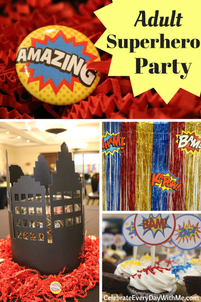 Fantastic Decorating Ideas For An Adult Superhero Party -3874