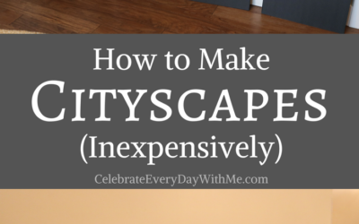 How to Make Cityscapes (Inexpensively)