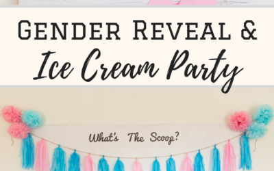 Gender Reveal Ice Cream Party