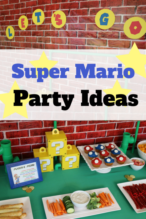 Power Up With These Super Mario Party Ideas Celebrate Every Day With Me